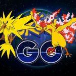 Pokémon GO: Moltres y Zapdos ya tienen fecha de llegada